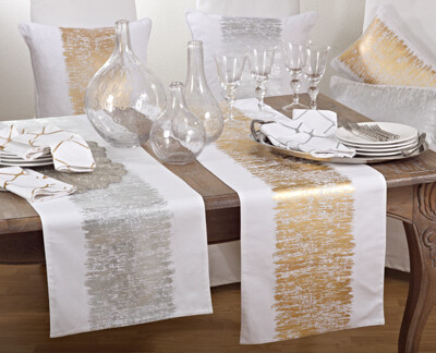 SS 700 Table Runner 16x72 Silver