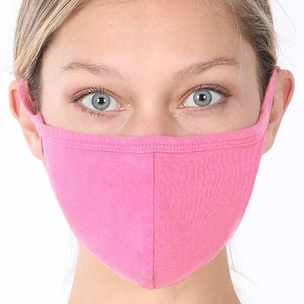 POPS Candy Pink Teen Adult Mask