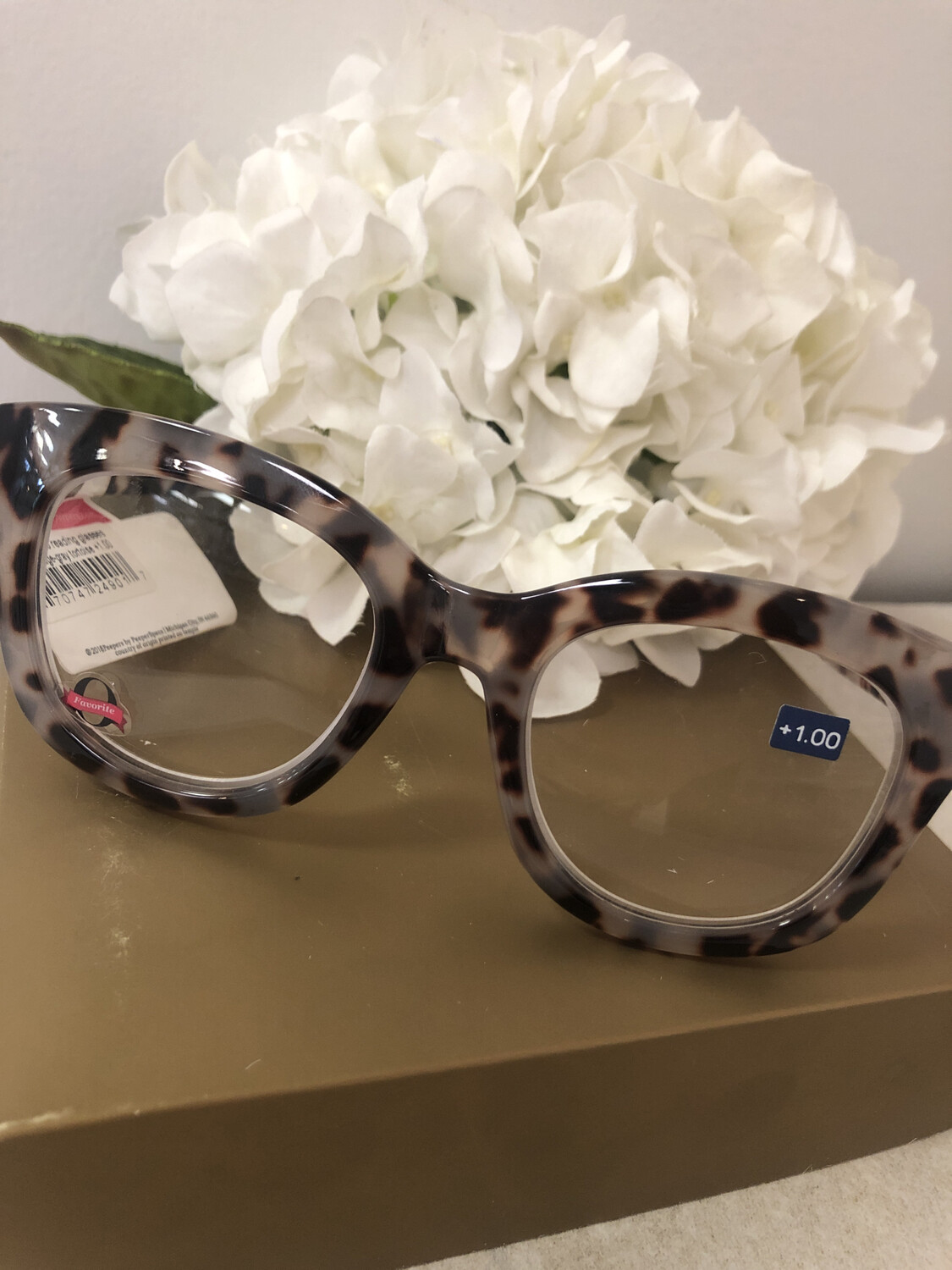 Peepers Center Stage Grey Tortoise +1.00