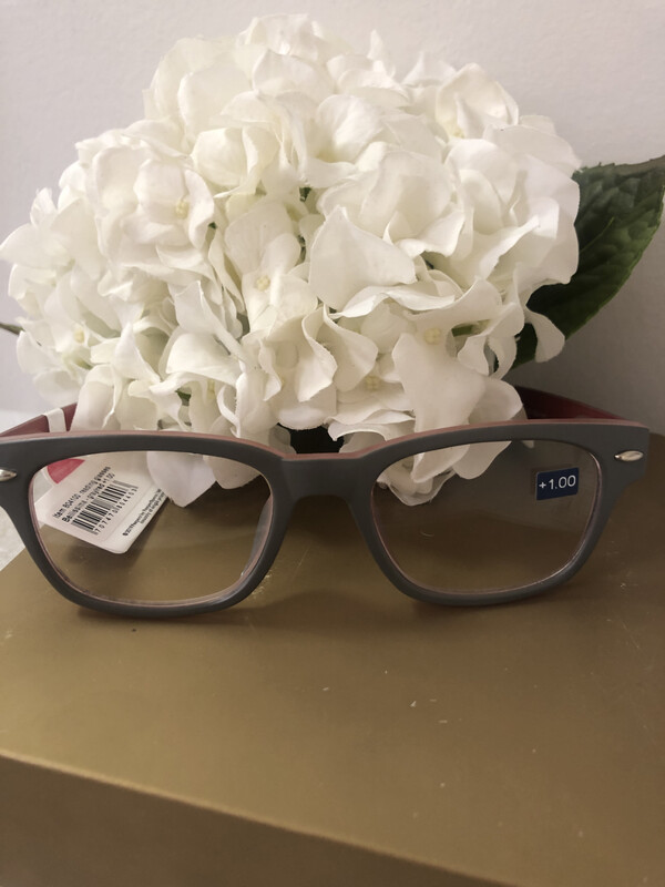 Peepers Bellissima Grey/red +1.00