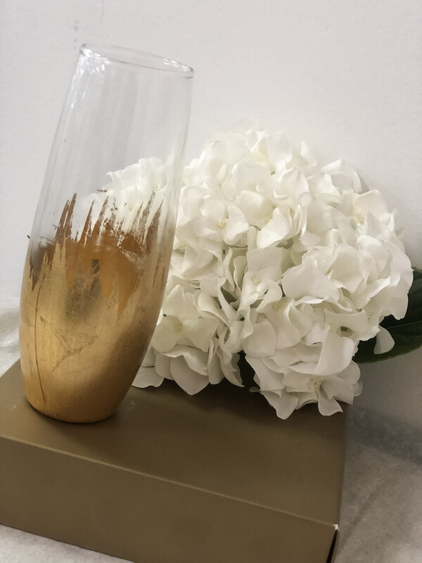 Gilded Champagne Stemless Glass