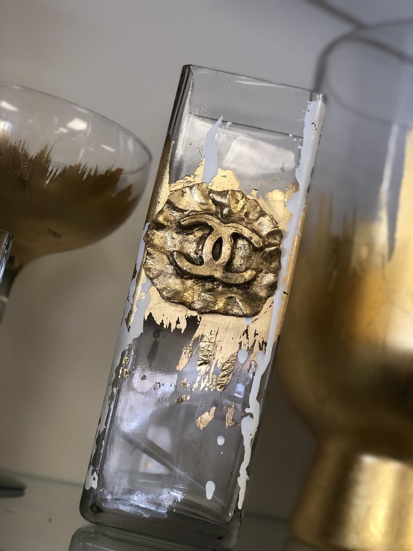 Designer Tall Chanel Vase