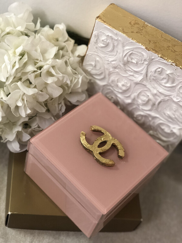 Designer Jewelry Box Pink CC