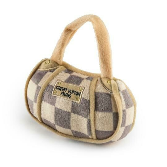 HDD Chewy Vuitton Purse Brown Checker Small