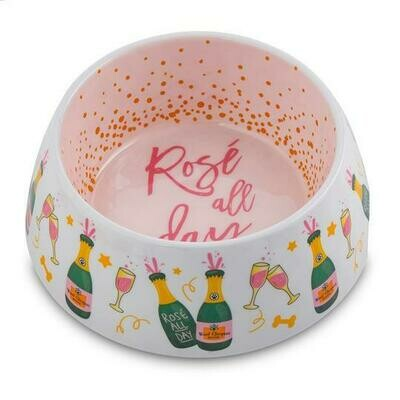 HDD Rose' All Day Dog Bowl