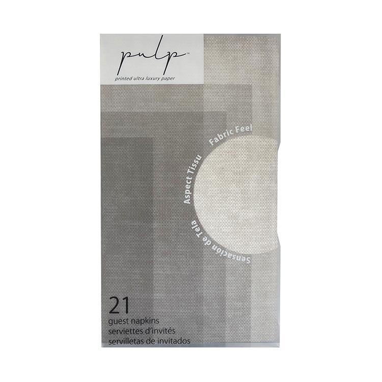 Pulp Guest Napkins Linen
