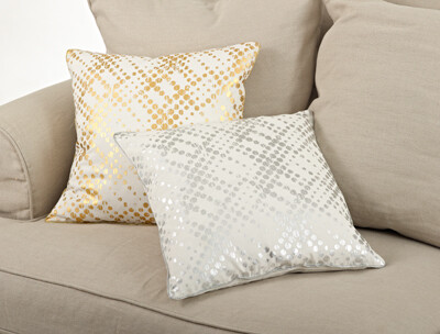 """SS 9284 20"""" Pillow Cover Gold"""