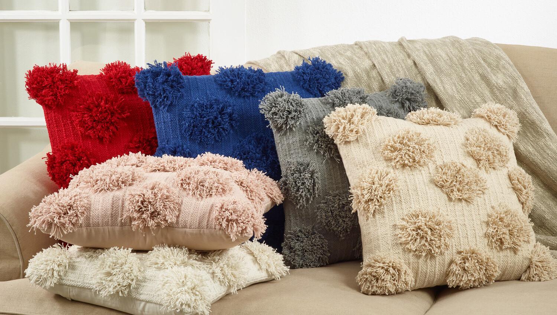 """SS 5269 18"""" Gray Pillow"""