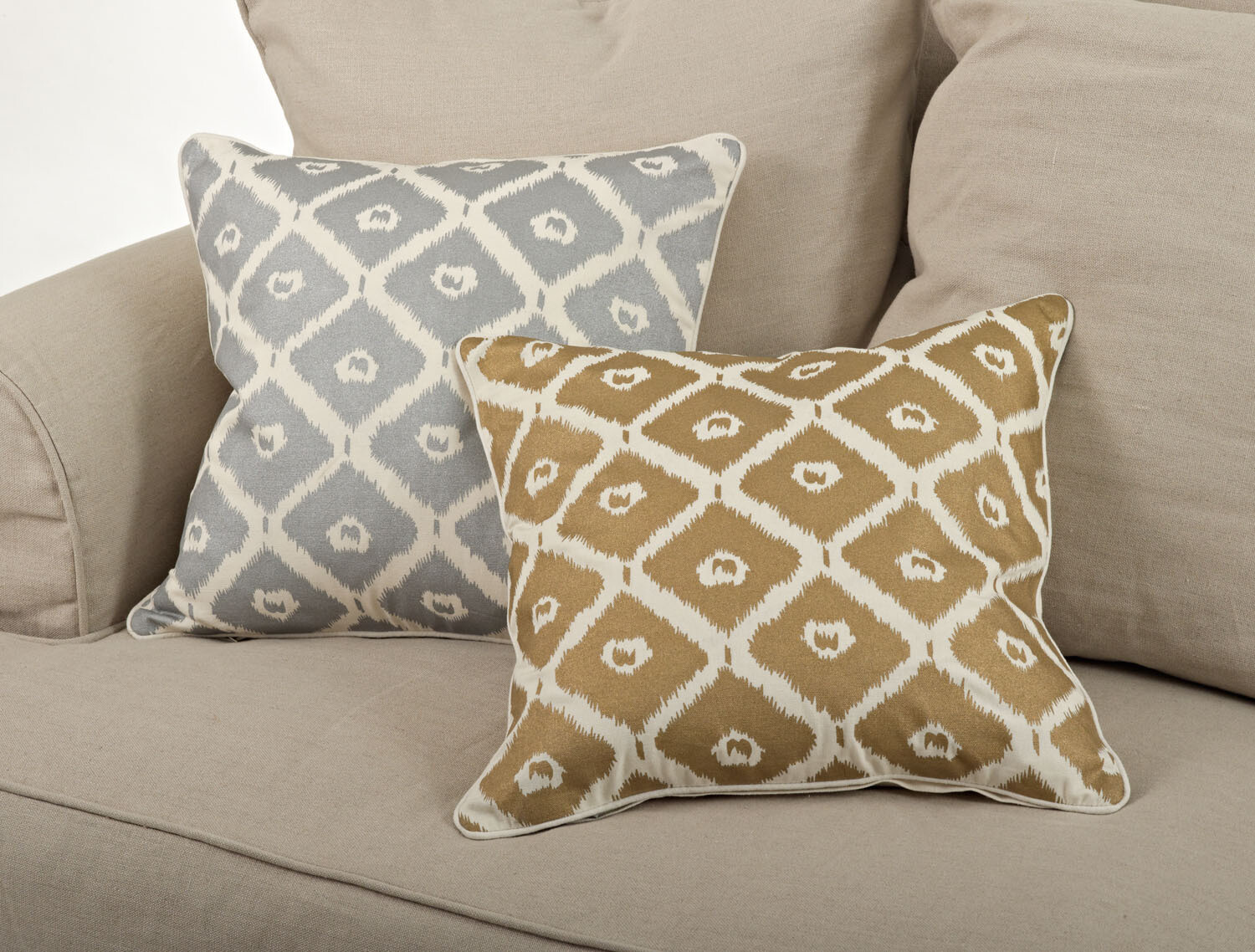"SS 999P 20"" Pillow Cover Silver"