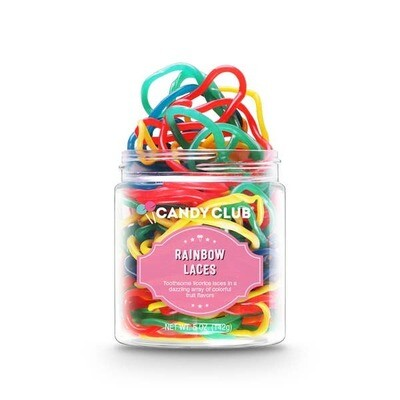 Candy Club Rainbow Laces