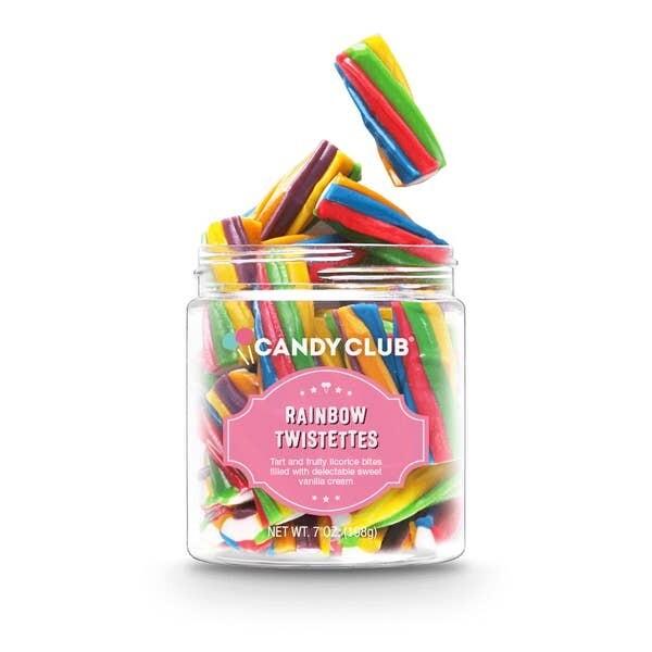 Candy Club Rainbow Twistettes