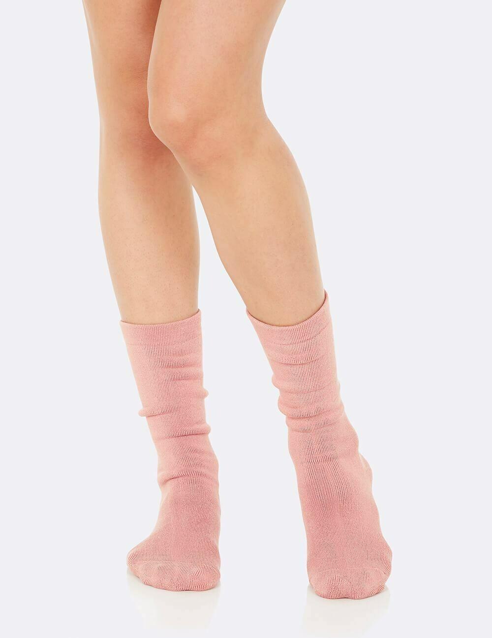 Boody Dusty Pink Chunky Sock