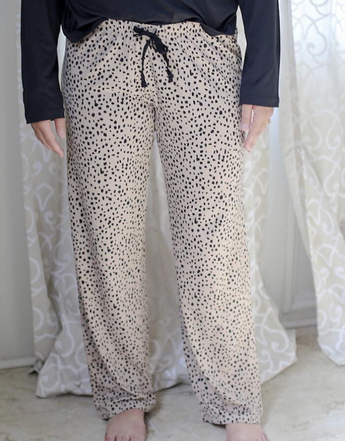 TRS Cheetah Sleep Pants Medium