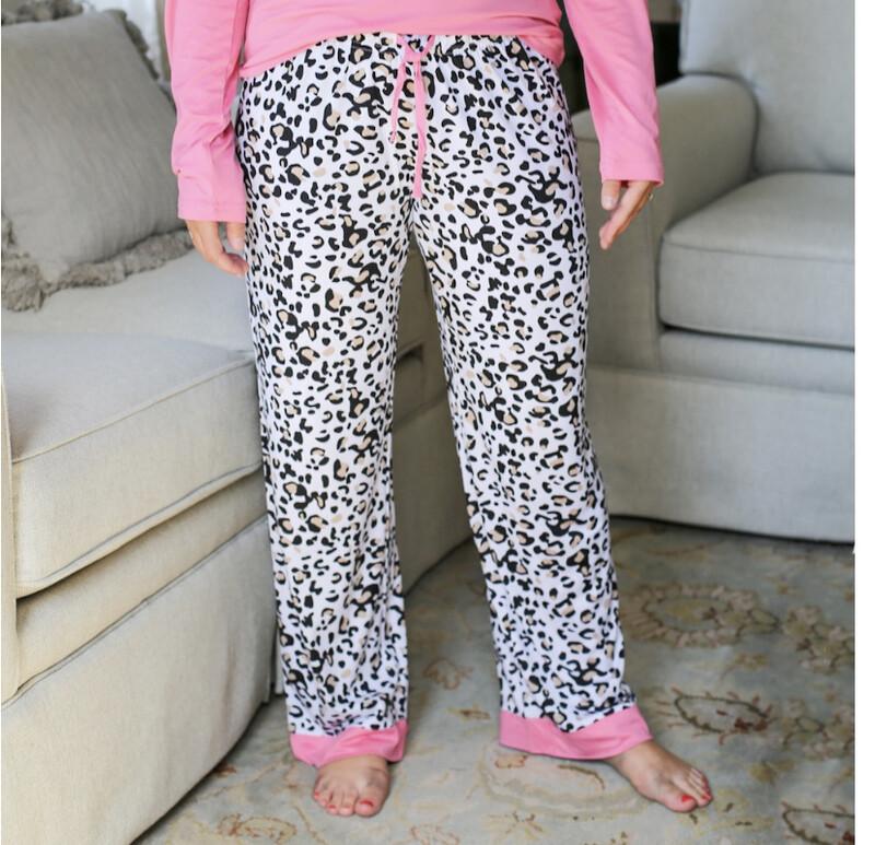 TRS Leopard Sleep Pants Medium