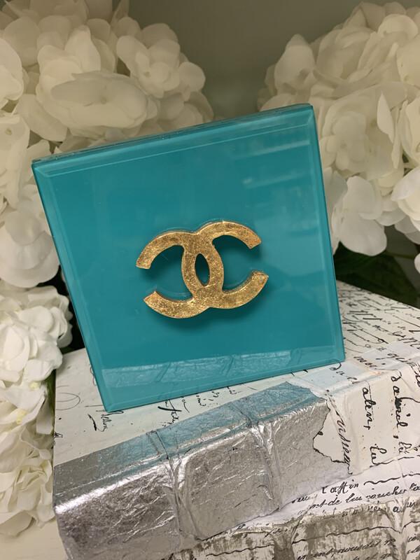 Designer Jewelry Box Turq CC