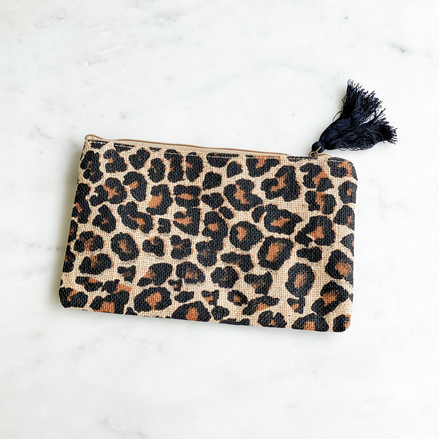 TRS Leopard Cosmetic Bag