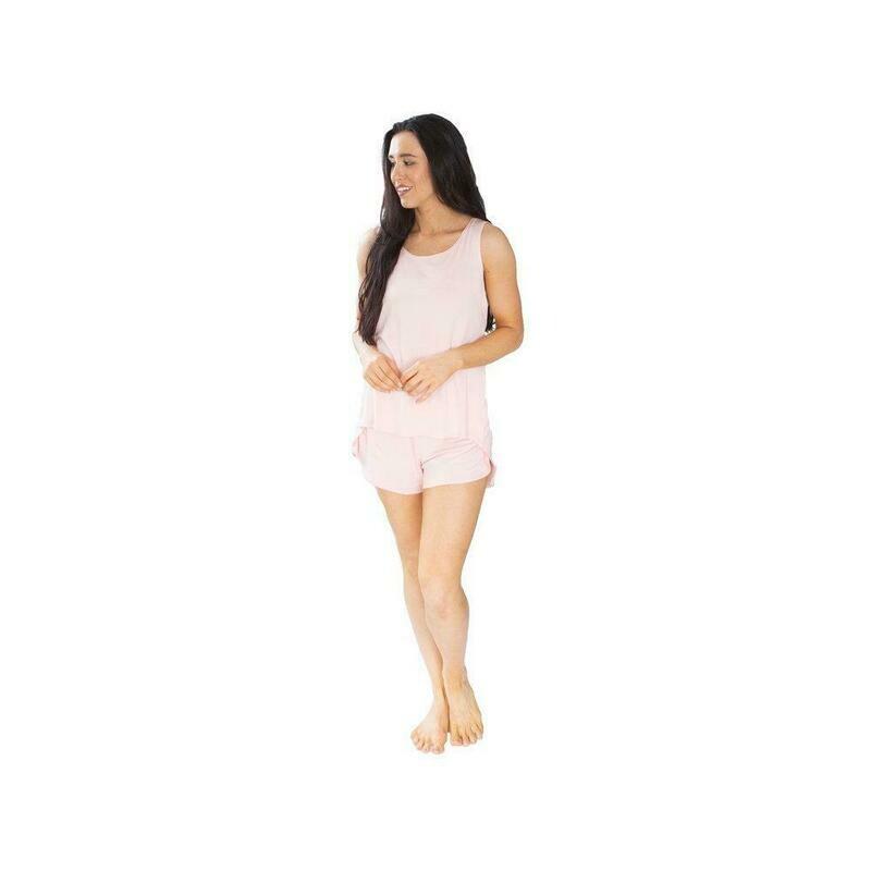Bella PJ Short Set Pink XL