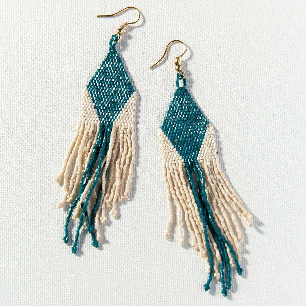 Ink & Alloy 913 Earring Peacock