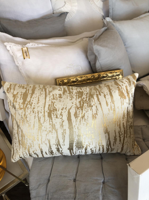 SS 1612 14x22 Gold Pillow