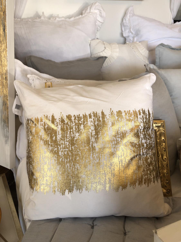 SS 700 20x20 Gold Pillow