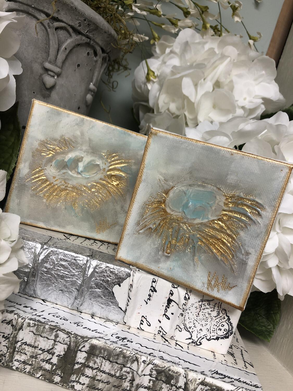 4x4 Nest Gloss Painting
