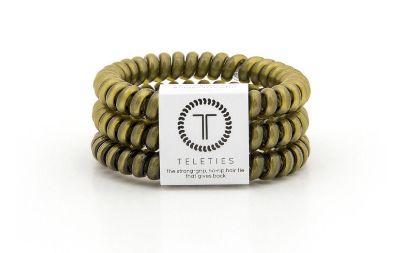 Teletie Olive Green Small