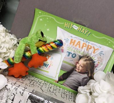Happy Birthday Pillow-Time Fun