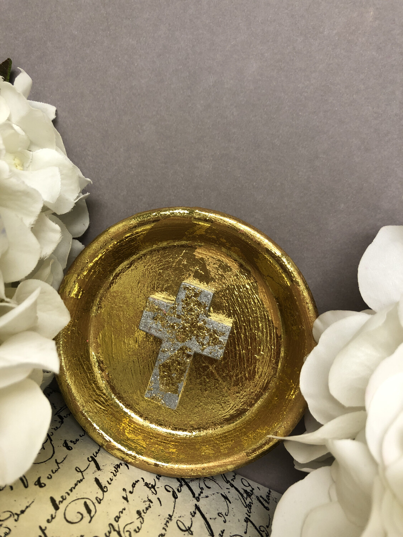 Cross Confetti Trinket Dish 2