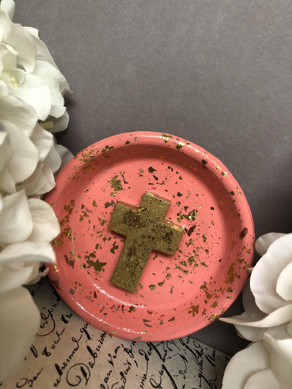 Cross Confetti Trinket Dish 6