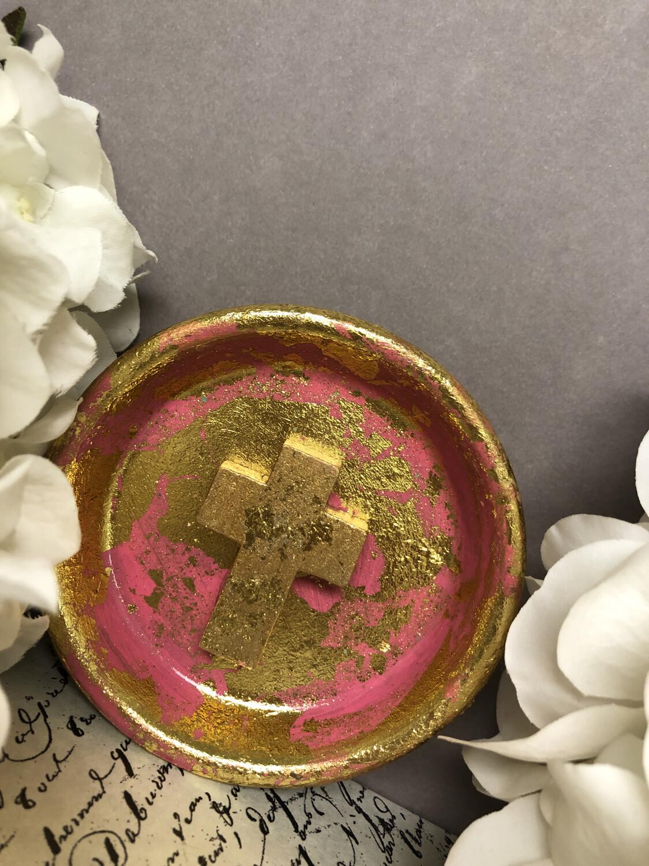 Cross Confetti Trinket Dish 3