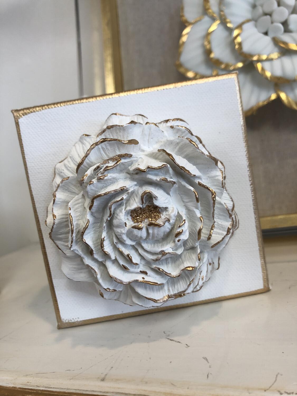 BSD Flower Art 4x4 White