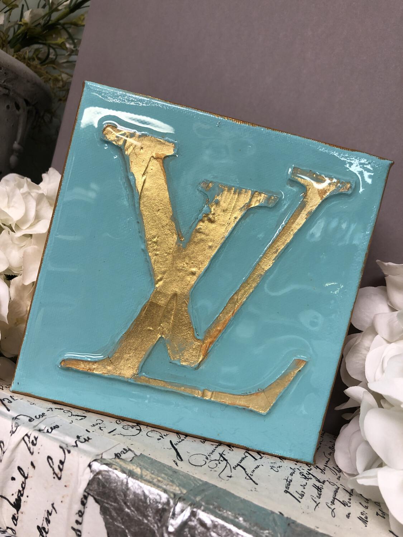6x6 Designer Painting Green LV