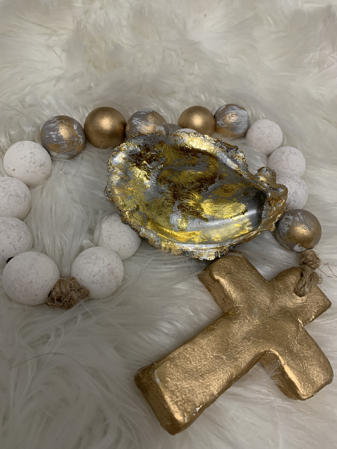 Painted Oyster Trinket 35