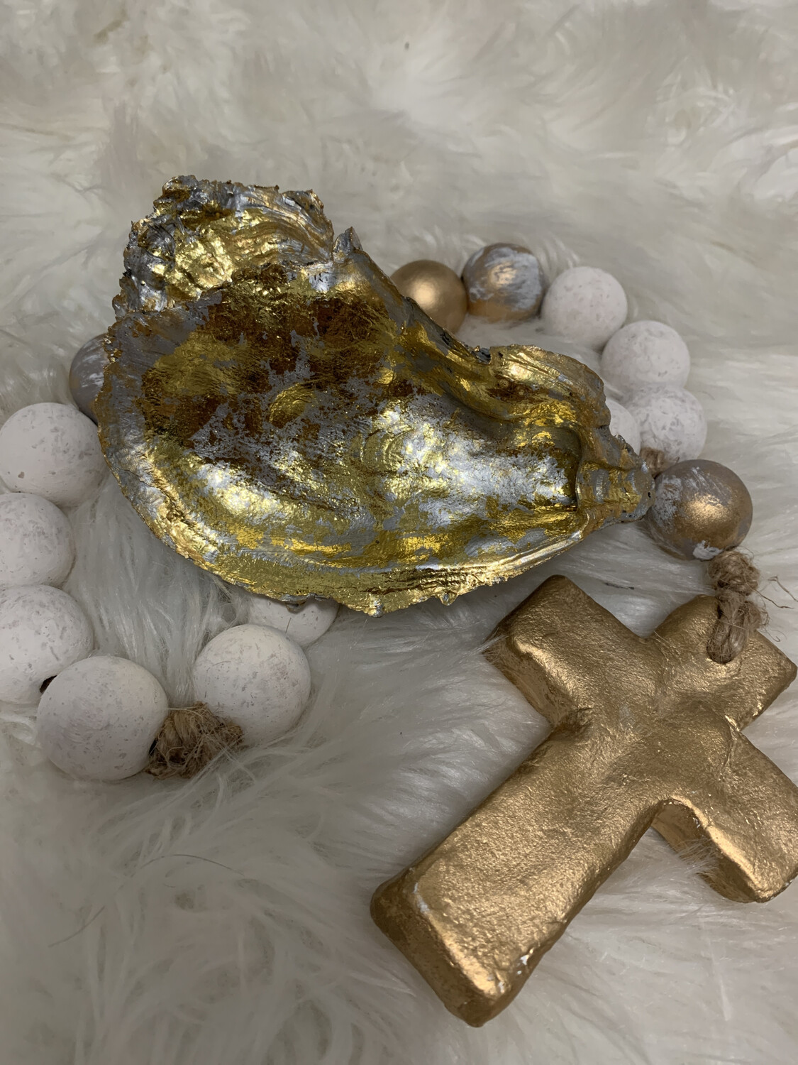 Painted Oyster Trinket 1