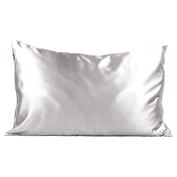 Kitsch Satin Pillowcase Silver STANDARD