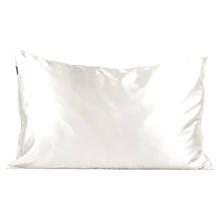 Kitsch Satin Pillowcase Ivory STANDARD