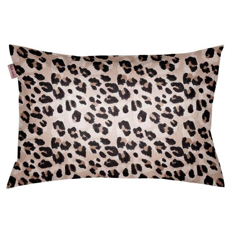 Kitsch Towel Pillow Cover Leopard