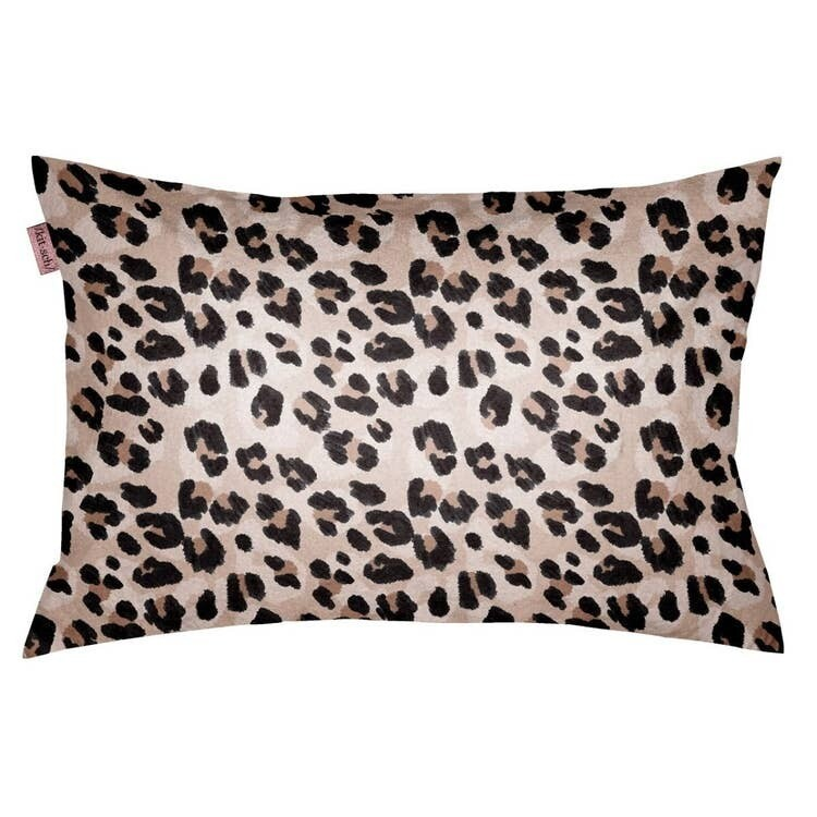 Kitsch Towel Pillow Cover Leopard