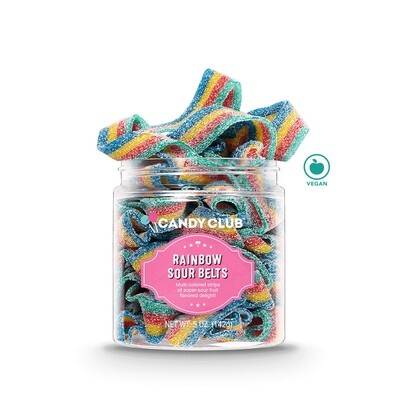 Candy Club Rainbow Sourbelts