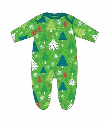 JM Christmas Onesie Green 18 Month