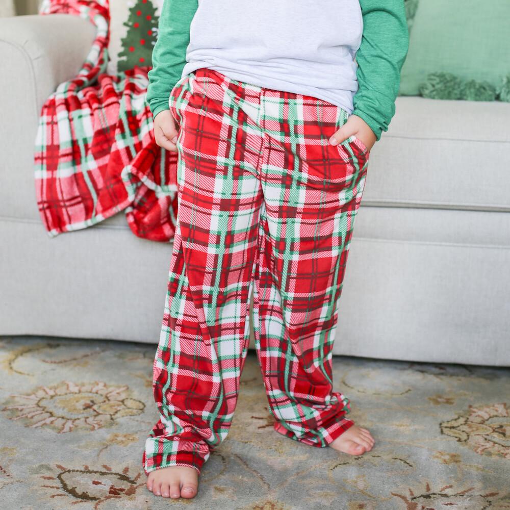 TRS Plaid Flannel PJ Pants Large