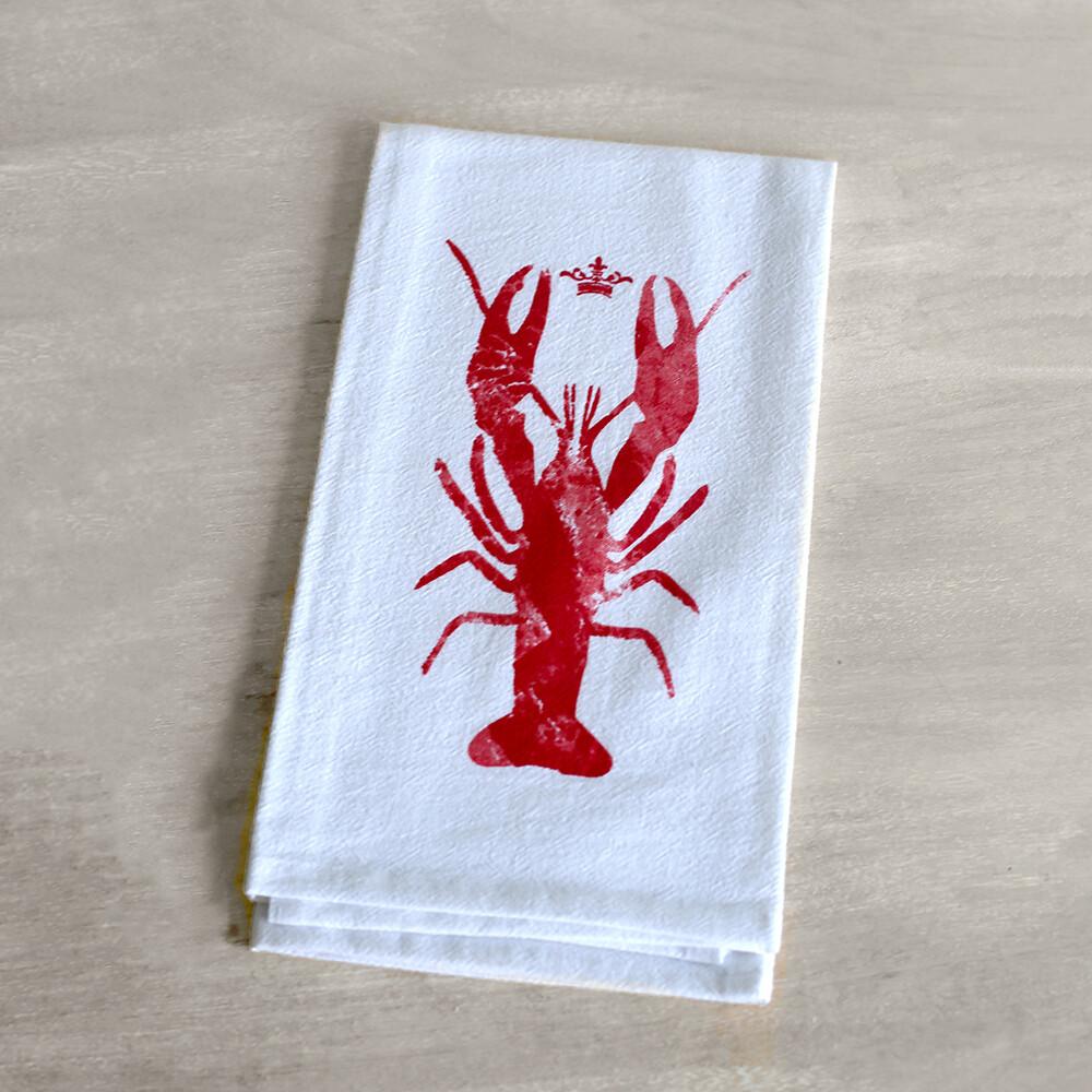 TRS Watercolor Crawfish Towel