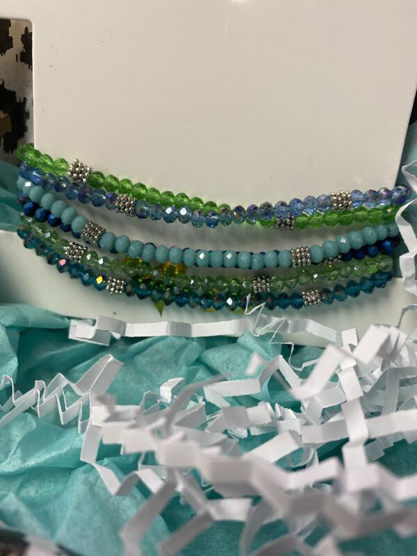 Bead Stack Bracelets 1