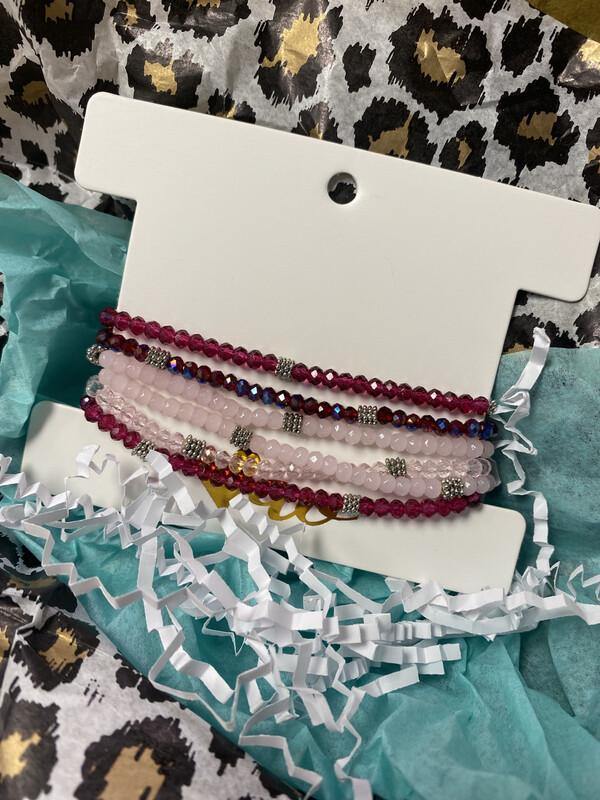 Bead Stack Bracelets 6