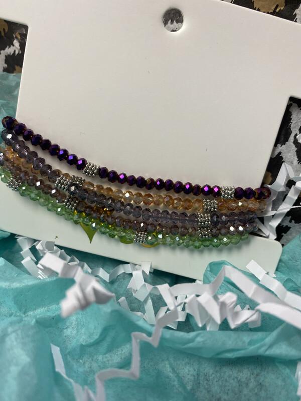 Bead Stack Bracelets 8
