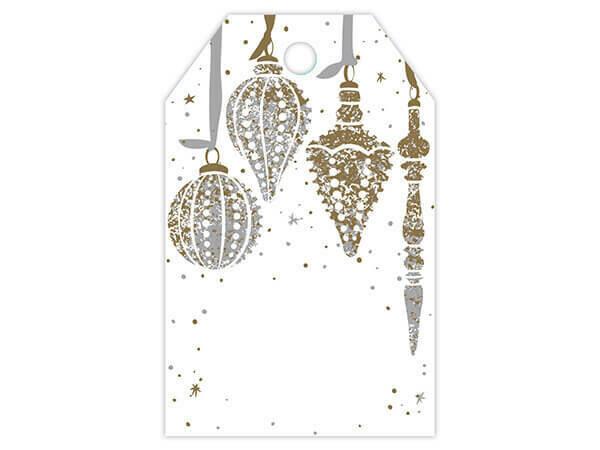 50 Gift Tags Mercury Glass
