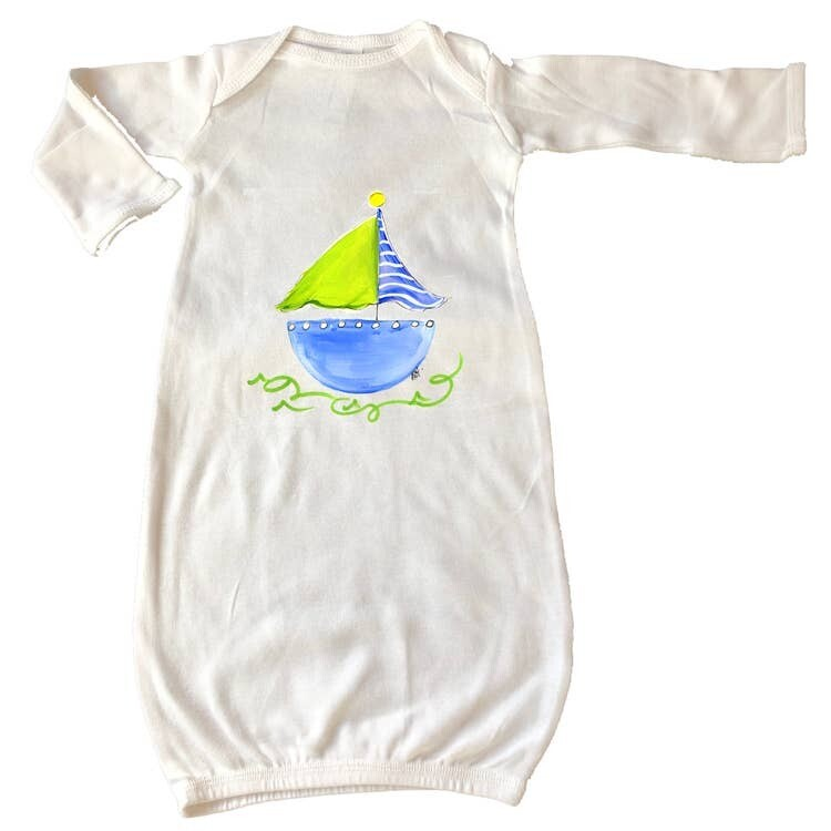 DBB Sailboat Gown Newborn