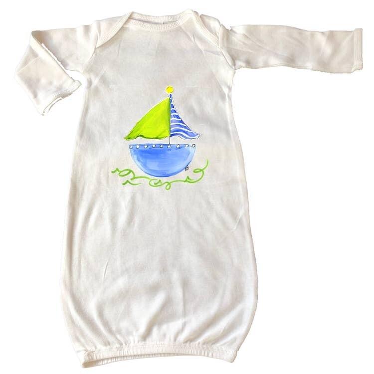 DBB Sailboat Gown Newborn
