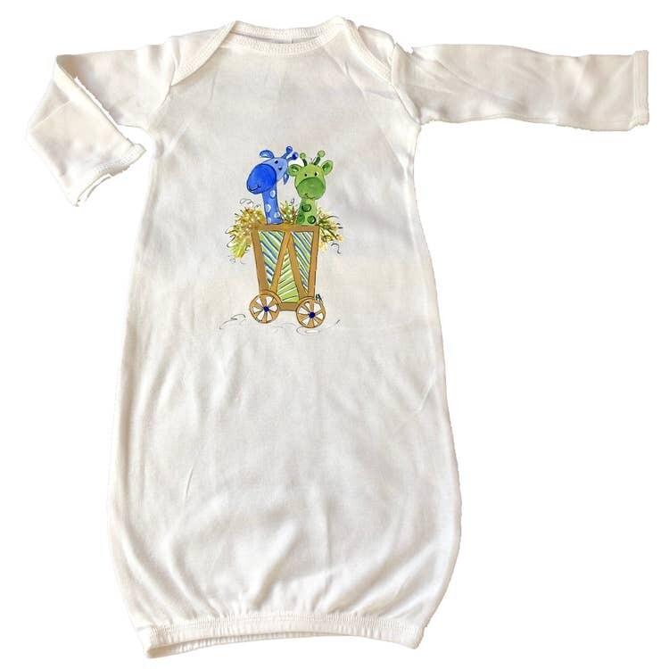 DBB Giraffe Gown Newborn