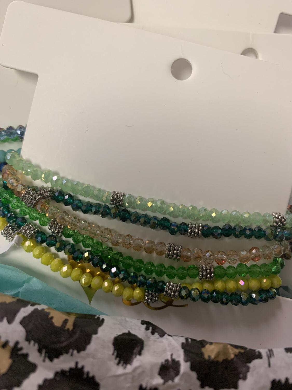 Bead Stack Bracelets 12